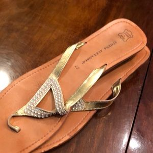 Gold Athena Alexander sandal